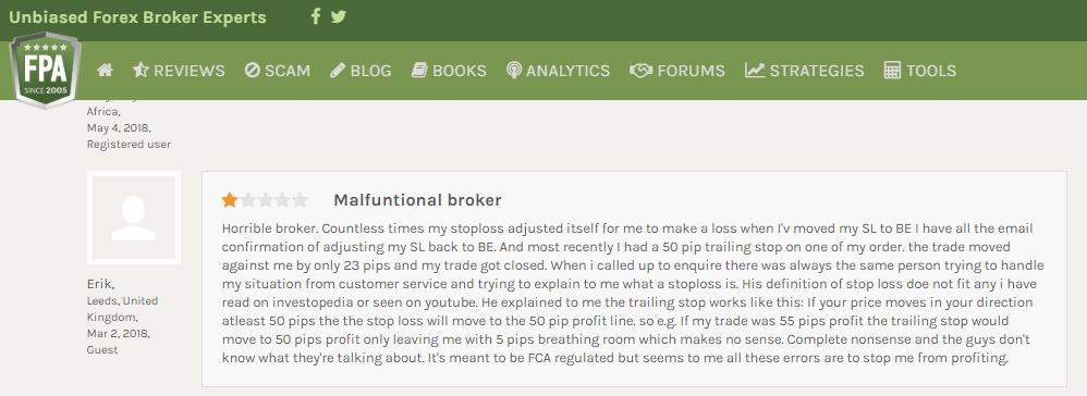 ETX Capital User Reviews