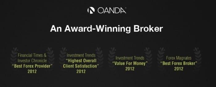Oanda Award-Winning Broker