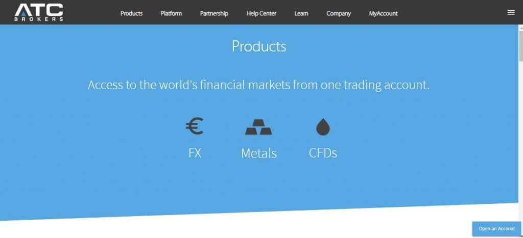 atc brokers products