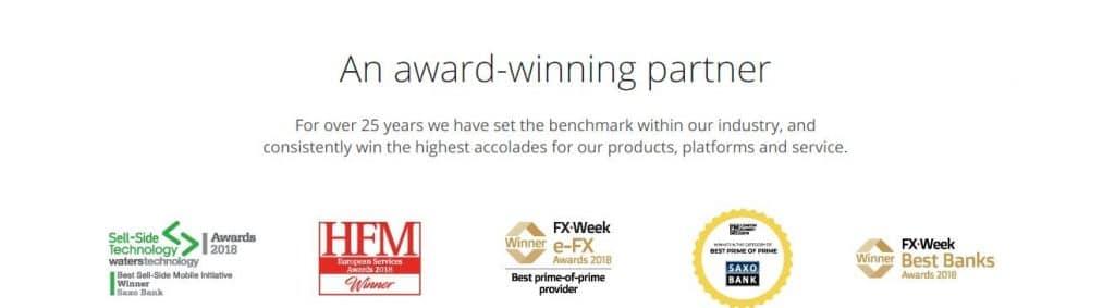 Saxo Bank Awards