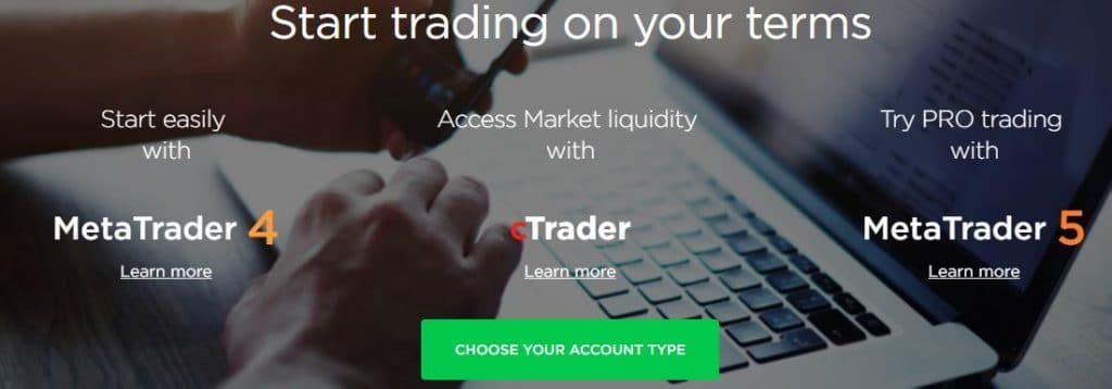 octafx trading platforms available