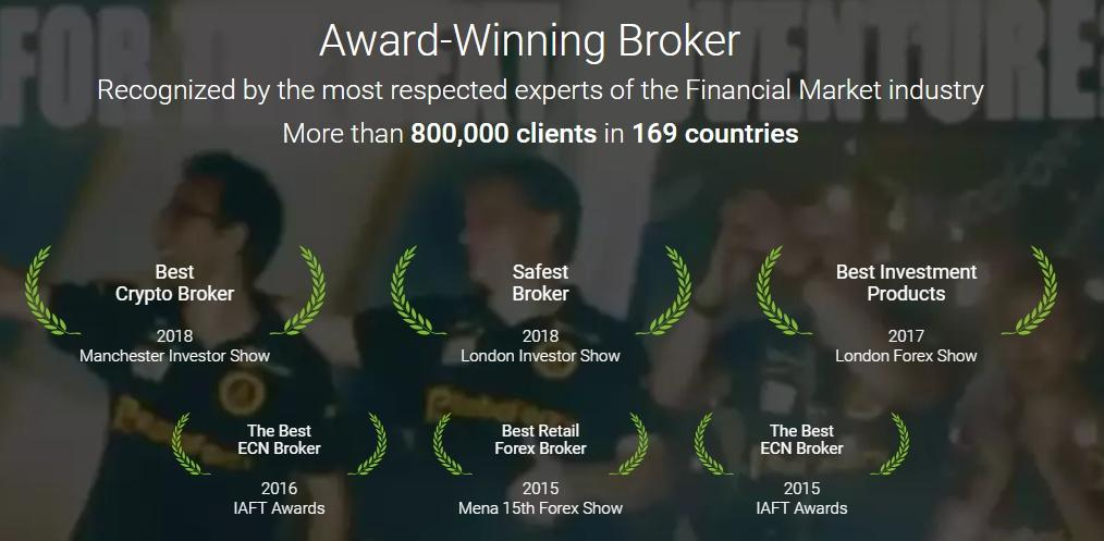 roboforex awards