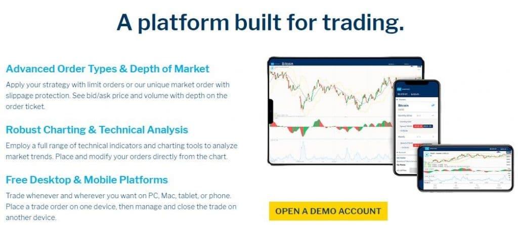 nadex trader trading platform