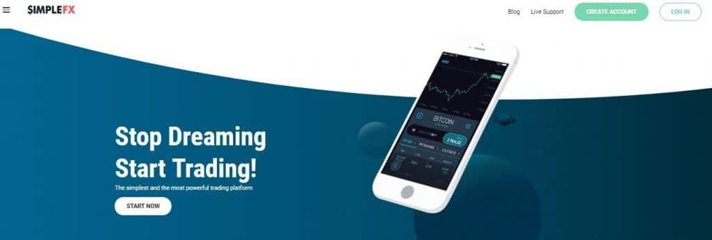 simplefx trading platform