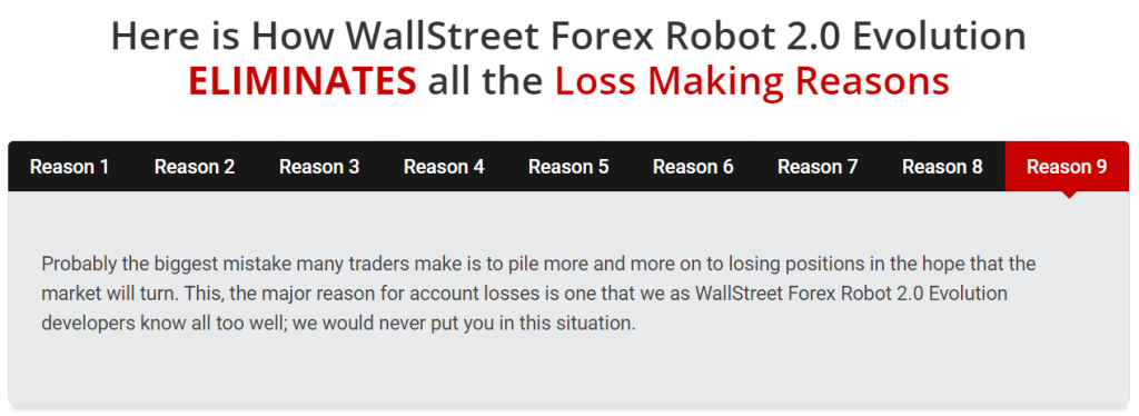 Wall Street 2.0 Forex Robot devs statements