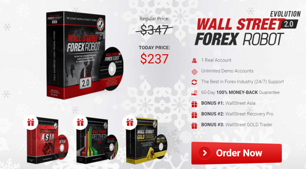 Wall Street 2.0 Forex Robot offers