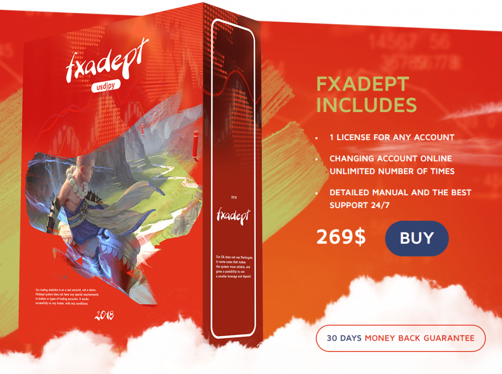 FXAdept Robot Pricing