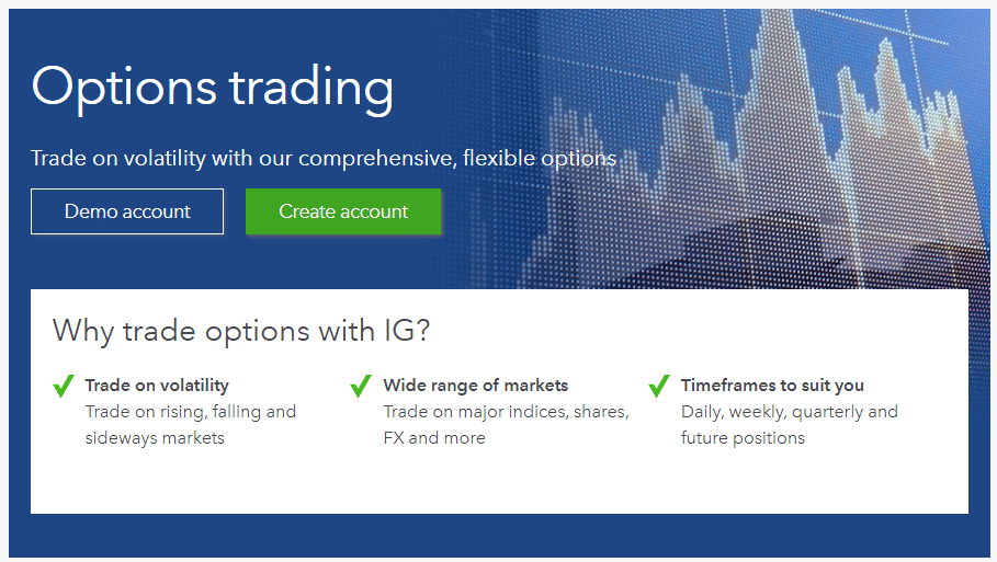 IG-Group Options trading