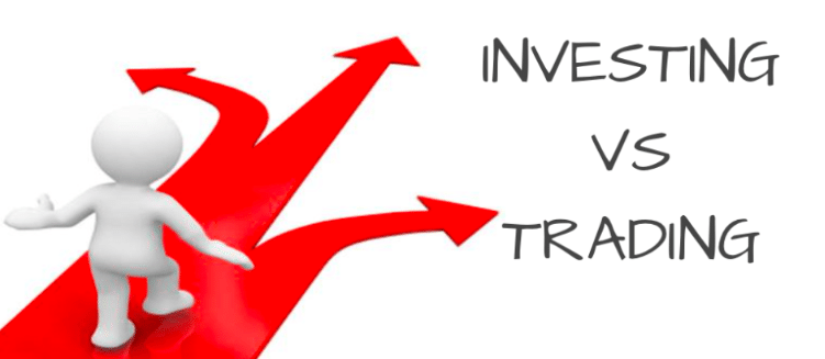 Difference between Investing and Trading in the Forex Market