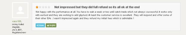 Forex Trend Detector Customer Reviews