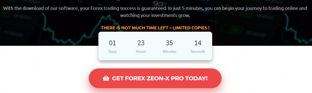 Forex Zeon X Pricing