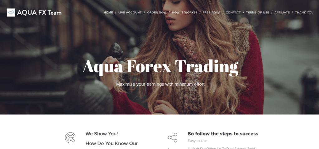 Aqua Forex Trading presentation