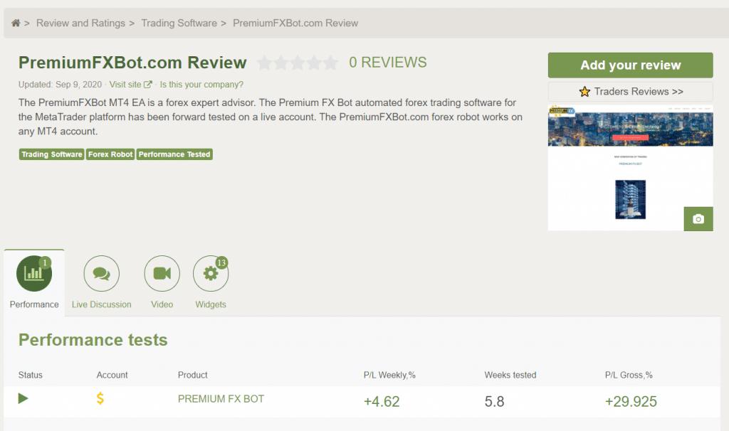 Premium FX Customer Reviews