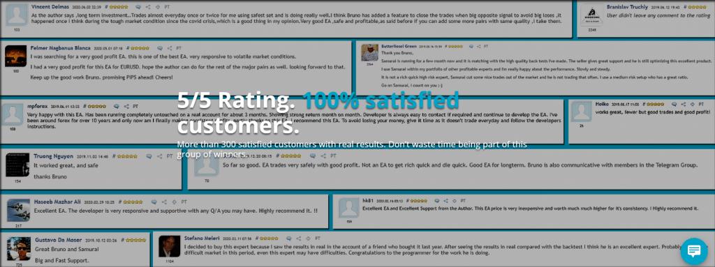 Ninja Scalper Customer Reviews