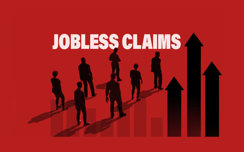 U.S. Jobless Claims Defies Expectations to Close Lower at 803,000