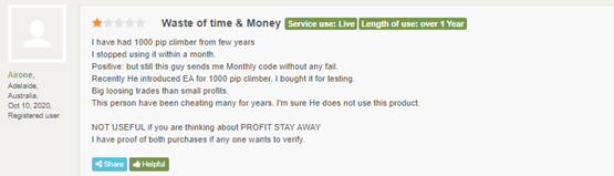 1000pip Builder Customer Reviews