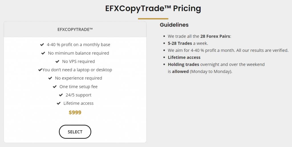 Elite FX Signals Pricing