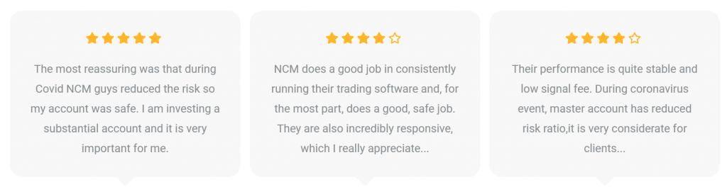 NCM Signals Customer Reviews