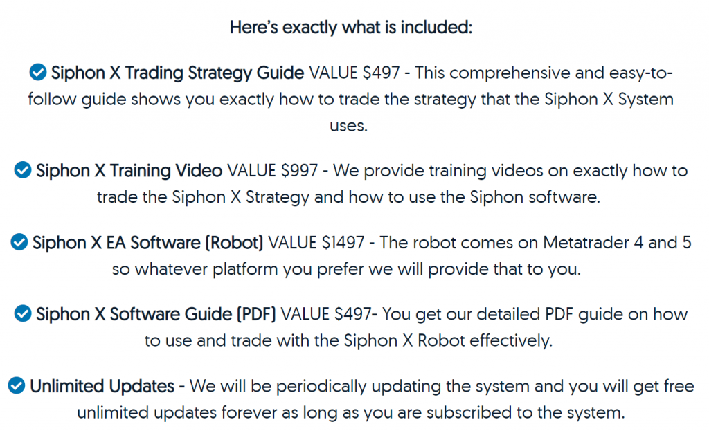 Siphon-X Pricing