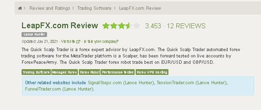 Trade Explorer Customer Reviews