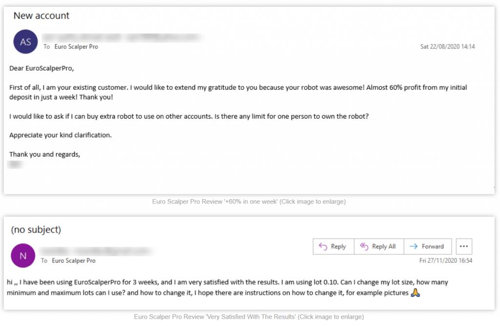 Euro Scalper Pro Customer Reviews