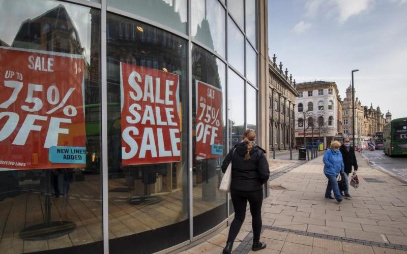 U.K Retail Sales Slips 8.2% on COVID-19 Impacts