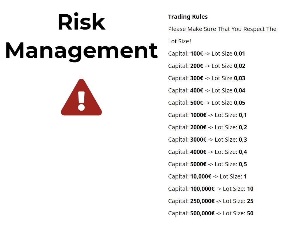 V12 Trading risk management