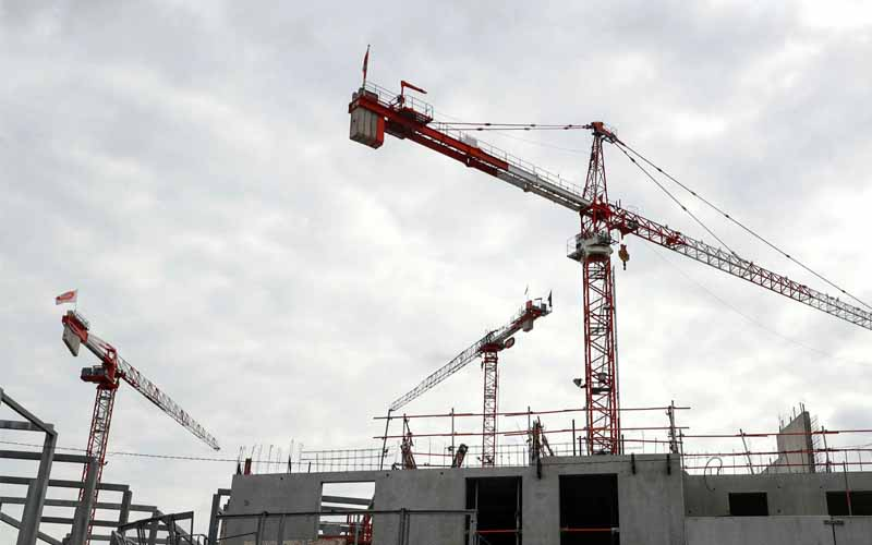 Eurozone Construction Activity Contracts for 12th Straight Month