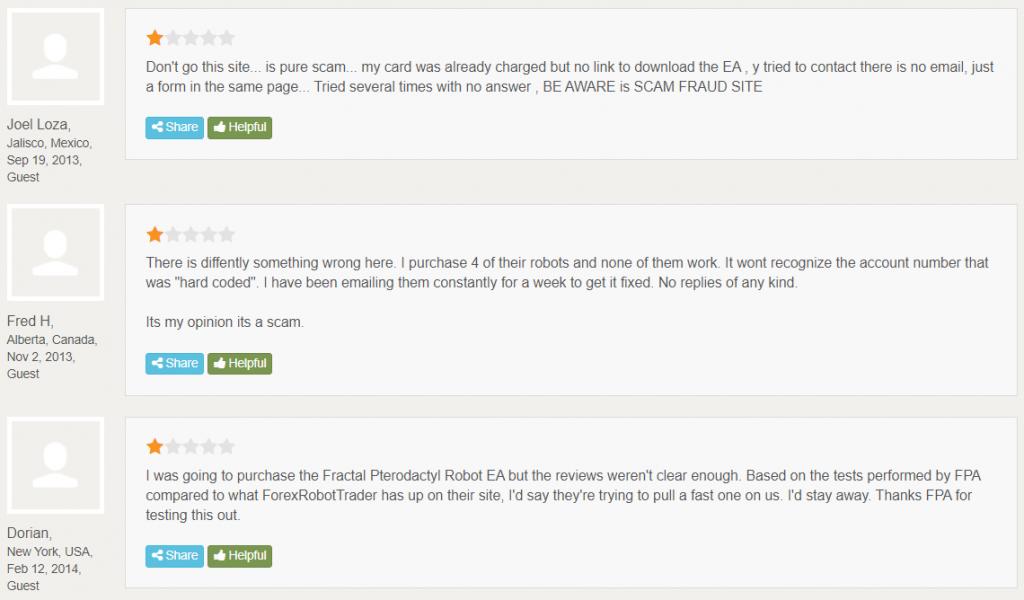 Falcor Forex Robot Customer Reviews
