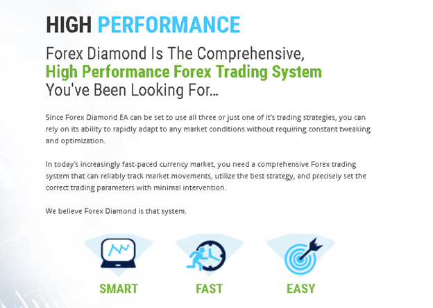 Forex Diamond high performance