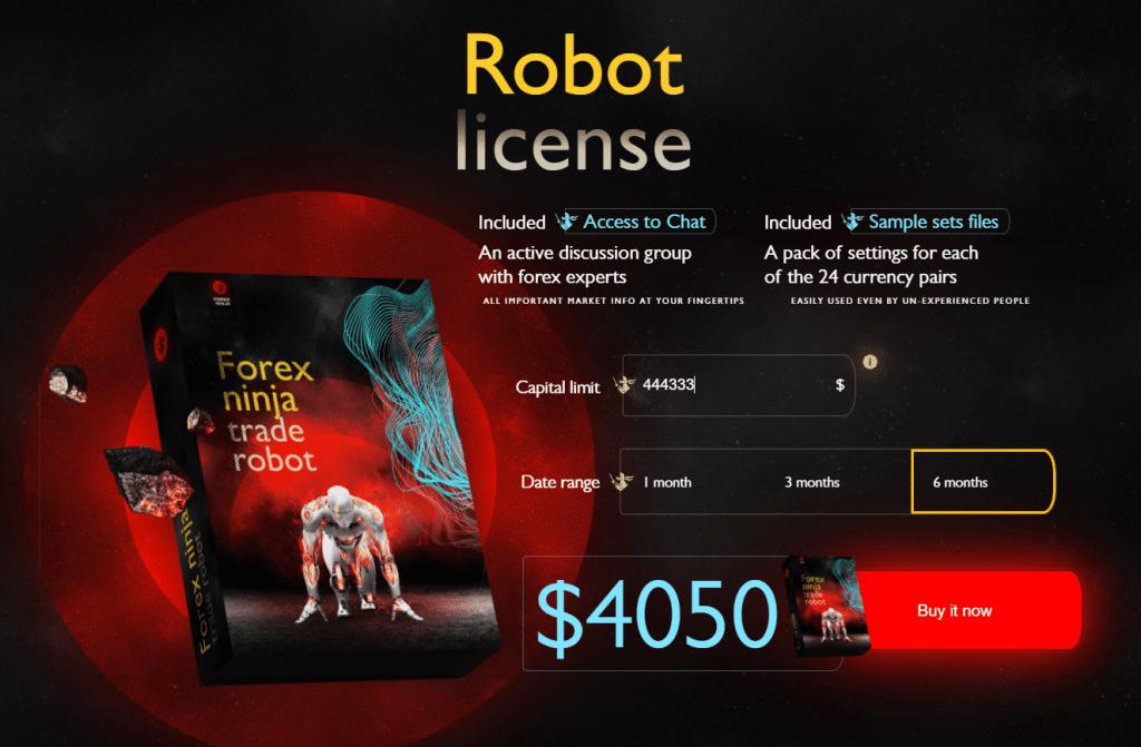 Forex Ninja Pricing