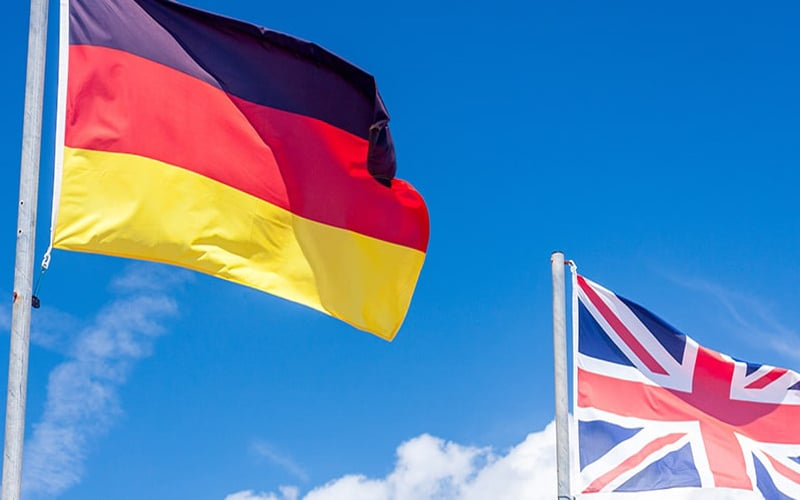 U.K and Germany Trades Post Highest Declines Since 2009 Financial Crisis
