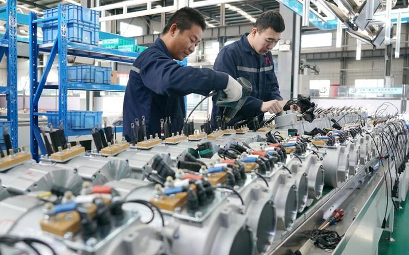 Manufacturing In World's Second-Biggest Economy Slows