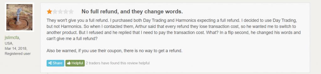 Point Zero Trading Customer Reviews