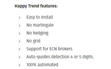 Happy Trend features