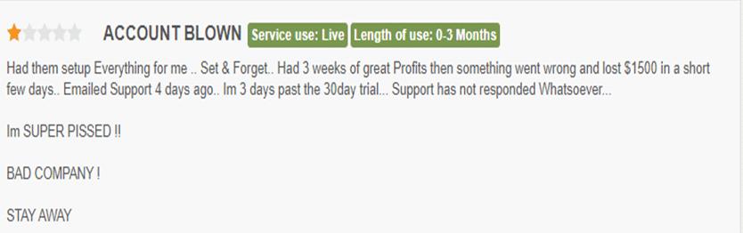 AX Trader Customer Reviews