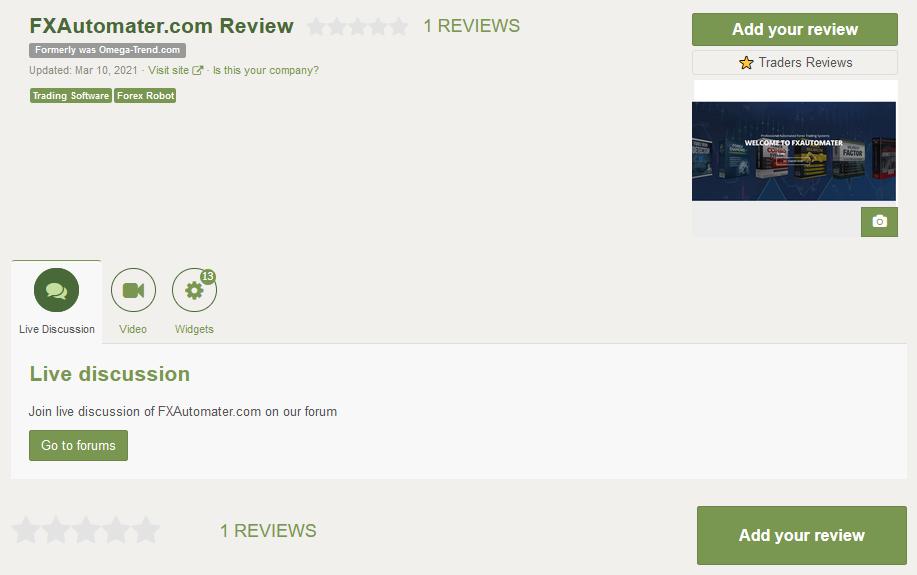 BF Scalper Pro Customer Reviews