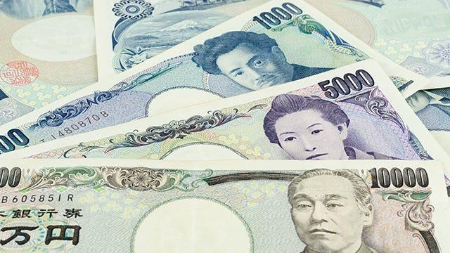 The Japanese yen