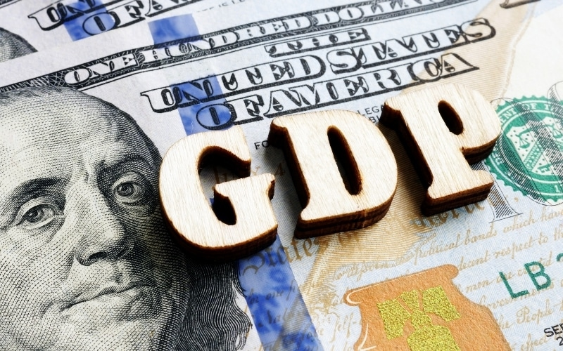 US First-Quarter GDP Maintained at 6.4%