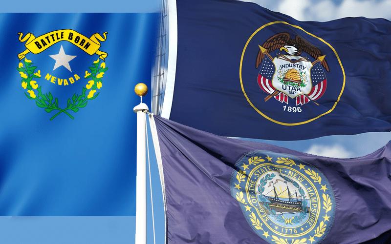 Nevada, Utah, New Hampshire Lead US Economic Growth