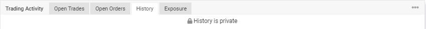 Sirius EA trading history
