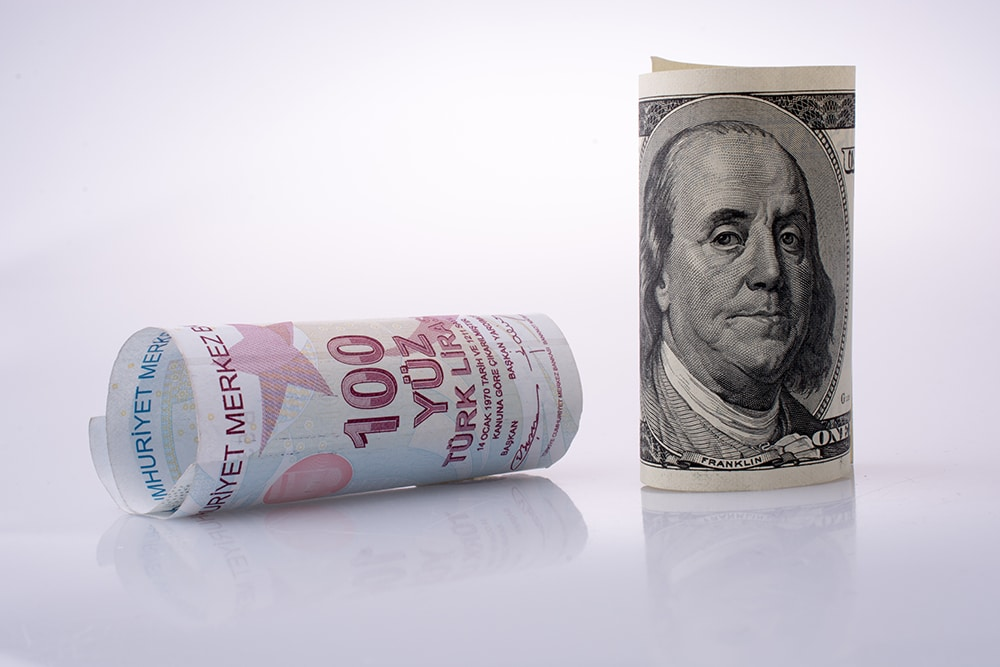 USD/TRY: Dollar Maintains Lead Ahead of Jobless Claims and GDP Report