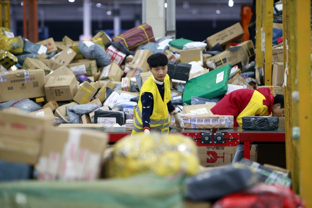 Lagging Business Activity Slowdown Growth of China's Services Sector