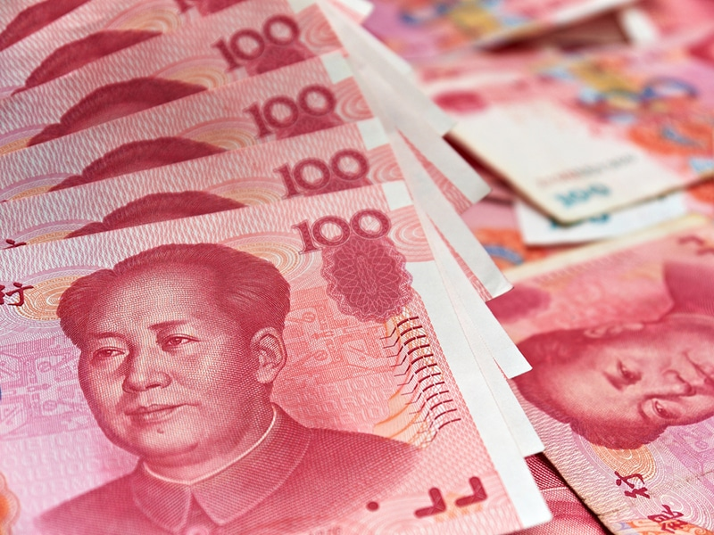 Global Yuan Reserves Climb to Highest Level in Over Four Years