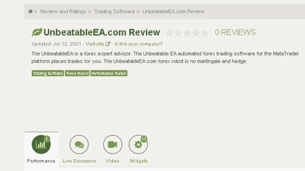 Unbeatable EA Customer Reviews