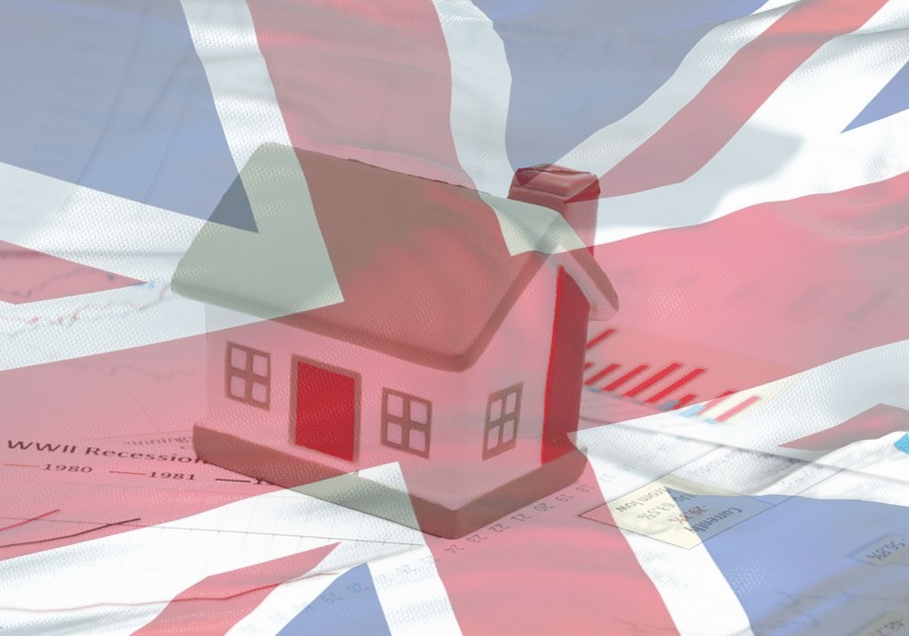 UK House Prices Decline for the First Time in 2021 in August