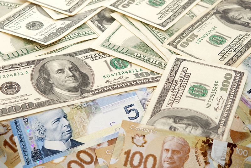 USDCAD: Trade Surplus Boosts the Loonie as US COVID-19 Cases Surge
