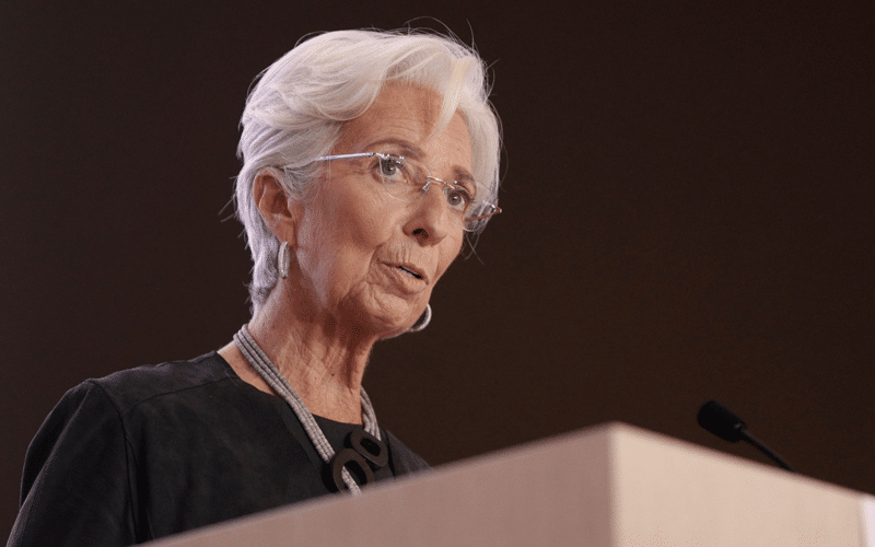 ECB Chief Lagarde Cites Growing Inflationary Concerns
