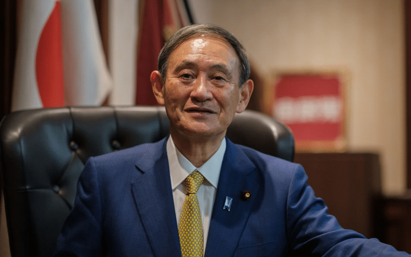 Japan's Premier Suga Steps Down, Two Former Foreign Ministers Lead Replacement Race