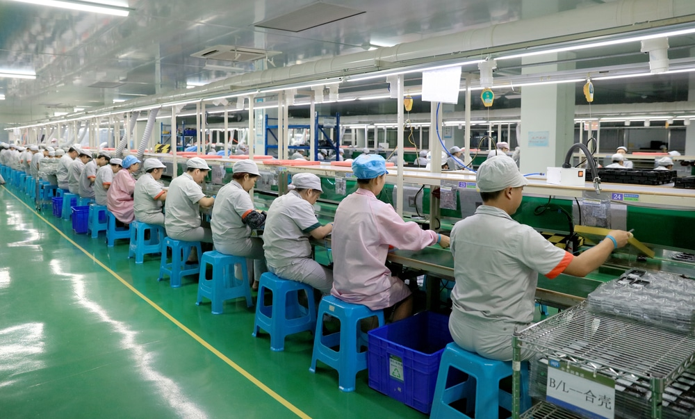 China's Factory Gate Inflation Reaches Record High in September